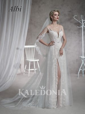 Suknia ślubna model Albi przód