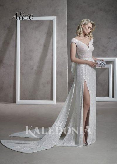Suknia ślubna model Alize przód