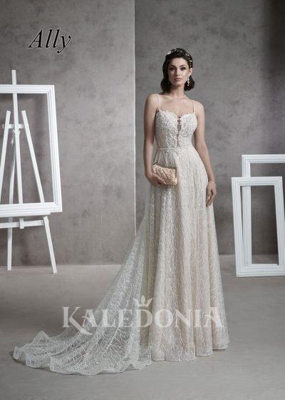Suknia ślubna model Ally przód