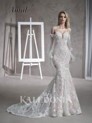 Suknia ślubna model Amal przód