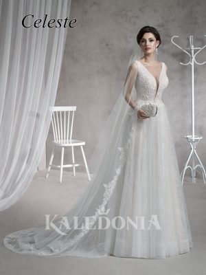 Suknia ślubna model Celeste przód