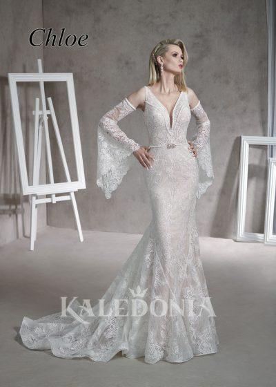 Suknia ślubna model Chloe przód