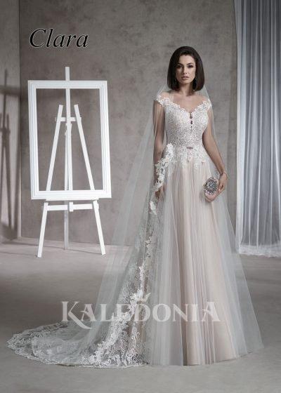 Suknia ślubna model Clara przód