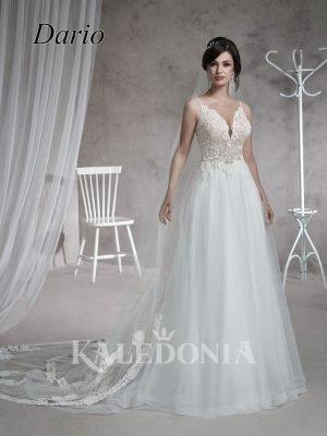 Suknia ślubna model Dario przód