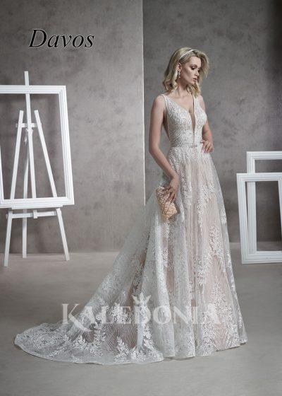 Suknia ślubna model Davos przód