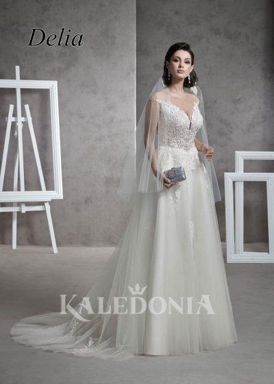 Suknia ślubna model Delia przód