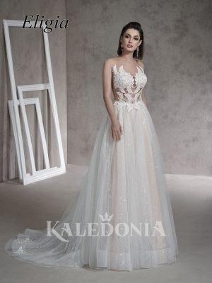 Suknia ślubna model Eligia przód