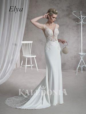 Suknia ślubna model Elya przód