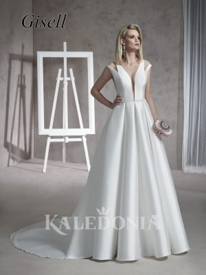 Suknia ślubna model Gisell przód
