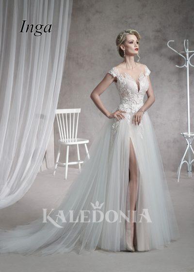 Suknia ślubna model Inga przód