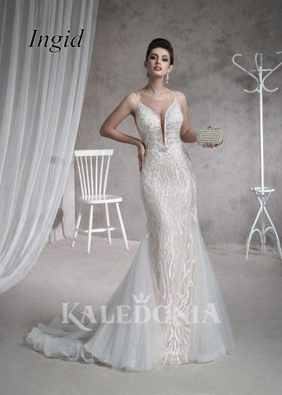 Suknia ślubna model Ingid przód