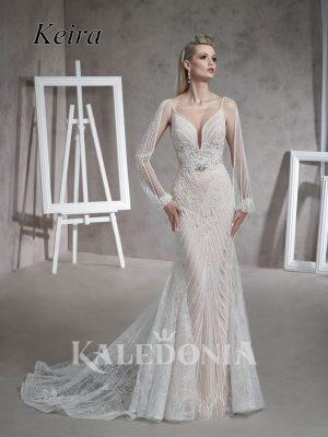 Suknia ślubna model Keira przód