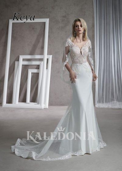 Suknia ślubna model Keya przód