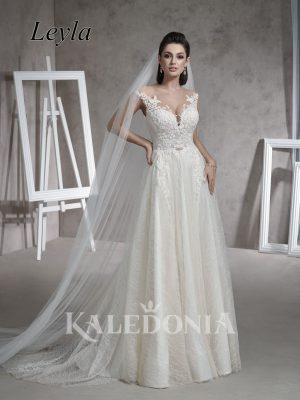 Suknia ślubna model Leyla przód