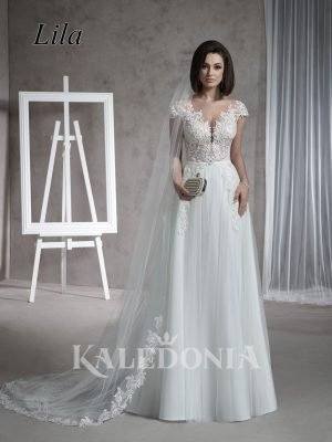 Suknia ślubna model Lila przód