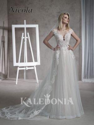 Suknia ślubna model Nicola przód