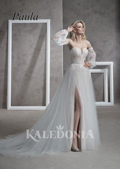 Suknia ślubna model Paula przód