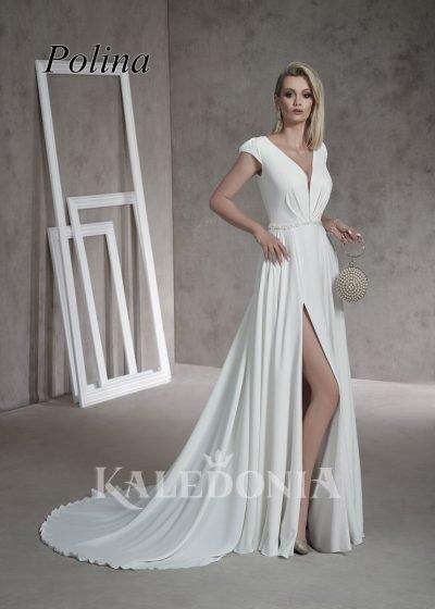 Suknia ślubna model Polina przód