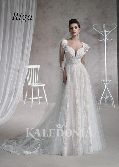 Suknia ślubna model Riga przód