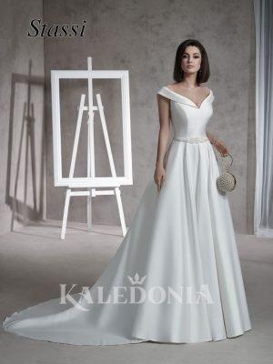 Suknia ślubna model Stassi przód